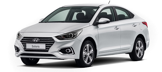 Hyundai Solaris AT 2017